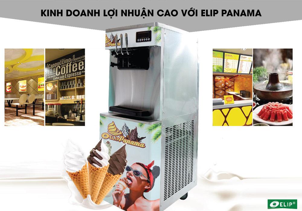 Máy làm kem Elip Panama