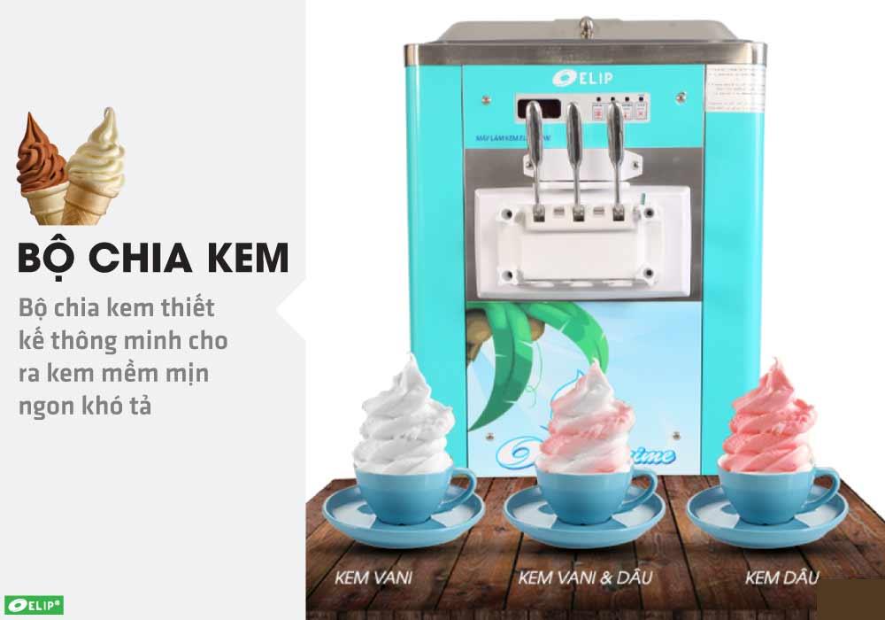 máy làm kem tươi Elip Prime