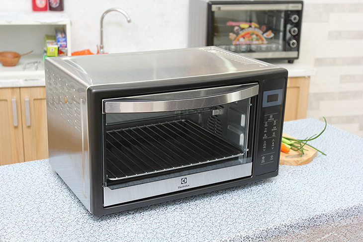 Lò nướng làm bánh độc lập có thể đặt để nhiều nơi trong ngôi nhà cuả bạn