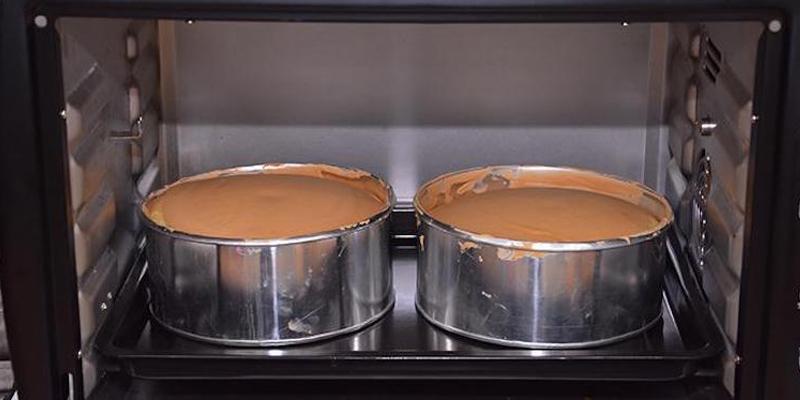 Lò nướng làm bánh có dung tích lớn có thể nướng 2 khuôn bánh một lúc