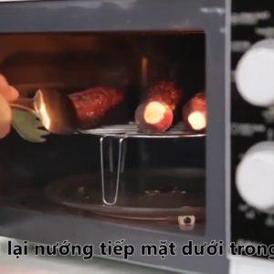 Lò nướng khoai lang mật dạng đối lưu