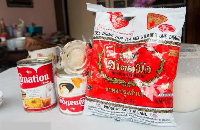 Cách làm trà sữa thái rất đơn giản: