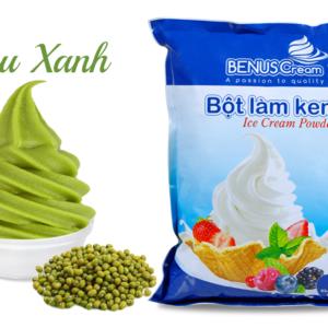 Bột làm kem Benuscream vị Đậu xanh