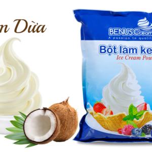 Bột làm kem tươi Benuscream vị Dừa