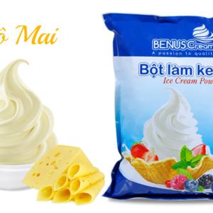 Bột làm kem tươi Benuscream vị Phô mai