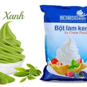 Bột làm kem tươi Benuscream vị Trà xanh