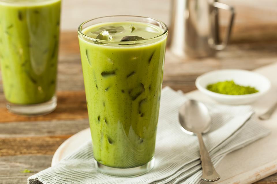 Image result for trà thái xanh