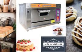 Thời gian và nhiệt độ nướng các loại thực phẩm ở lò nướng bánh 1 tầng 2 khay southstar
